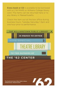 Williamstown Public Library Poster