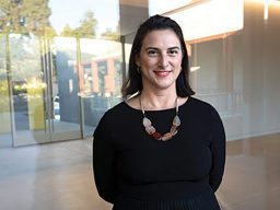 Image for Victoria Sancho Lobis MA '02 – Benton Museum director prepares for opening day