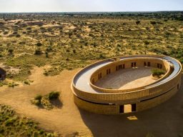 Image for Diana Kellogg '84 designs sustainable school in Jaisalmer that aims to empower women